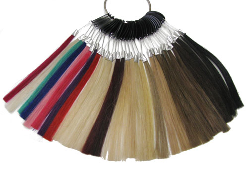 I-HAIR®, T-HAIR®, CINDERELLA HAIR® STRIPS & INFINITE HAIR EXTENSIONS® COLOR RING