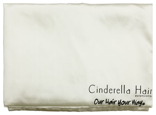 SATIN PILLOW CASE (IVORY)