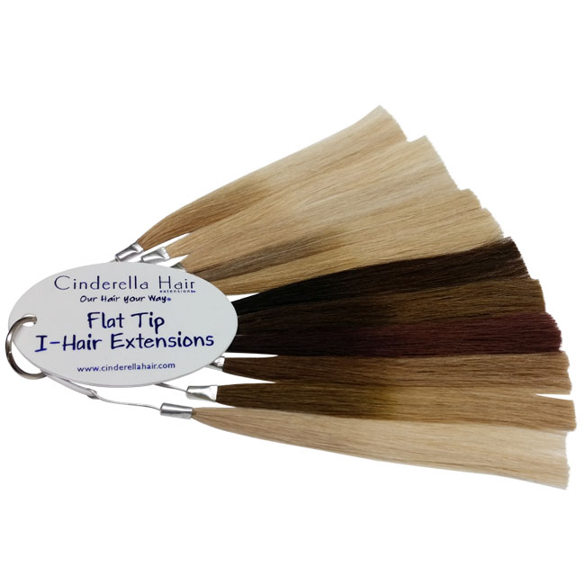 FLAT TIP I-HAIR/CLASSIC BOND & T-HAIR COLOR BLENDS COLOR RING