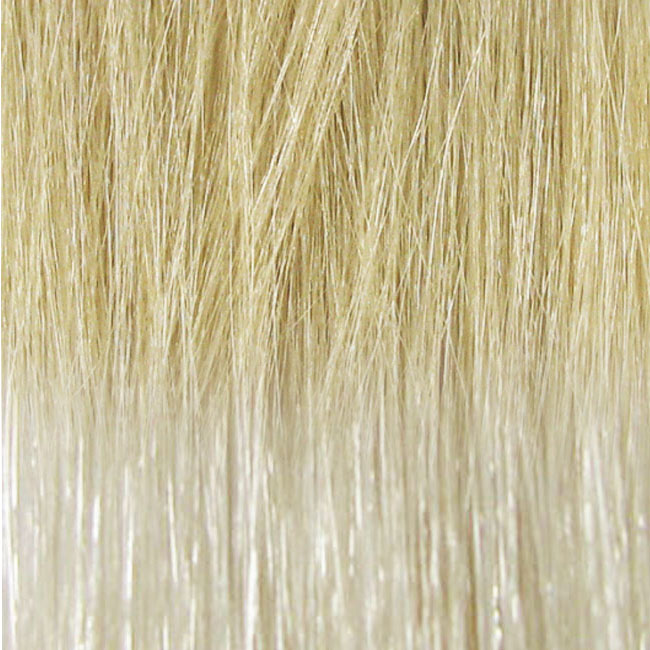 "CINDERELLA HAIR VEIL 20"" - #11/JUST PLATINUM ARTIC ICE (MEDIUM TEXTURE) STRAIGHT"