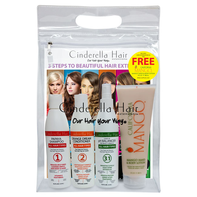 CINDERELLA HAIR EXTENSIONS® RETAIL KIT