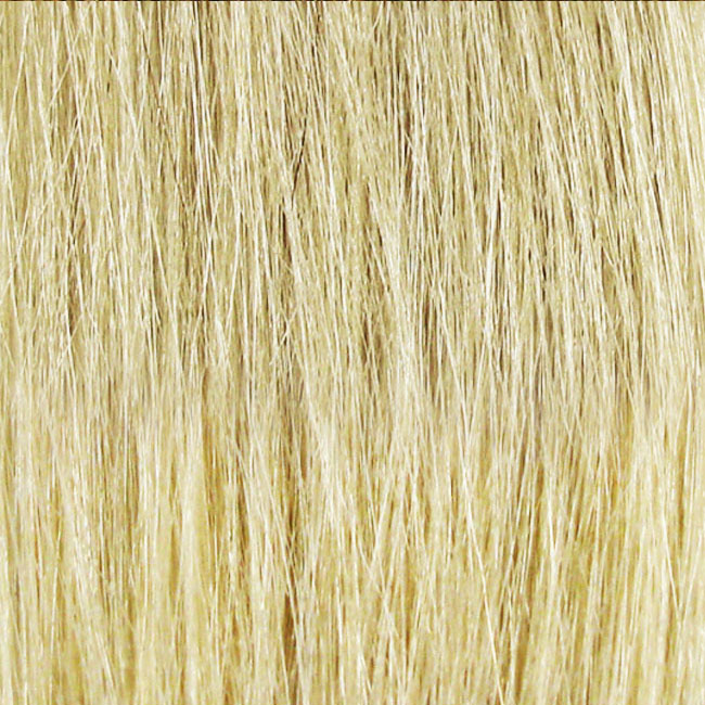 "FLAT TIP I-HAIR®  COLOR BLENDS 20"" - #S613/S600 DOUBLE BLONDE EUROPEAN (MEDIUM TEXTURE) STRAIGHT (HAIR MAY WAVE WHEN WASHED)"