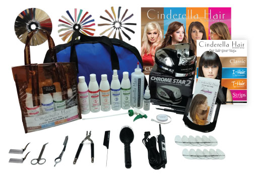 CINDERELLA HAIR EXTENSIONS® CLASSIC BOND STARTER KIT